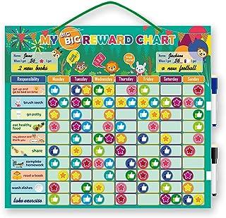 ライフ小屋 磁気報酬カレンダーボード 行動記録ボード 壁掛け 磁気ボード 自己規律 壁や冷蔵庫につける 子供木おもちゃ 責任チャート 子供日常活動記録 レイボード 知育玩具 保育園 幼稚園 部屋装飾 贈り物 プレゼント