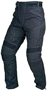 Juicy Trendz Men's Textile Trouser Motorcycle Armour Biker Motorbike Waterproof Black