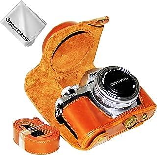 Pu Funda bolsa cubierta para Olympus Em5 Mark Ii Digital Con 12-50mm Lente