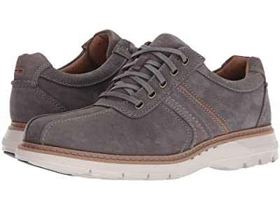 Clarks Un Ramble Go (Dark Grey Tumbled Leather) Men