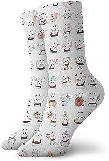 Luxury Calcetines de Deporte Cute Unisex Funny Art 3D Print Casual Crew Socks Athletic Crew Socks