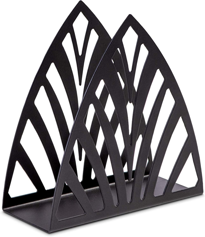 Napkin Manufacturer regenerated product Holder Black Los Angeles Mall Metal for - Organiz Design New Tables