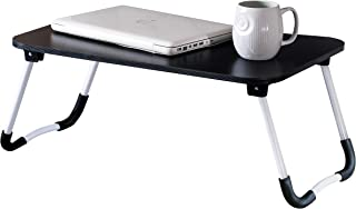 Lap Desk for Bed by Night N Dawn – [2019 New] Laptop Table Black Work Table for Office – Wood & Metal Modern Table – 100 x 60 x 73.2-cm Desktop for Home Office