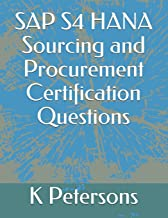 SAP S4 HANA Sourcing and Procurement Certification Questions