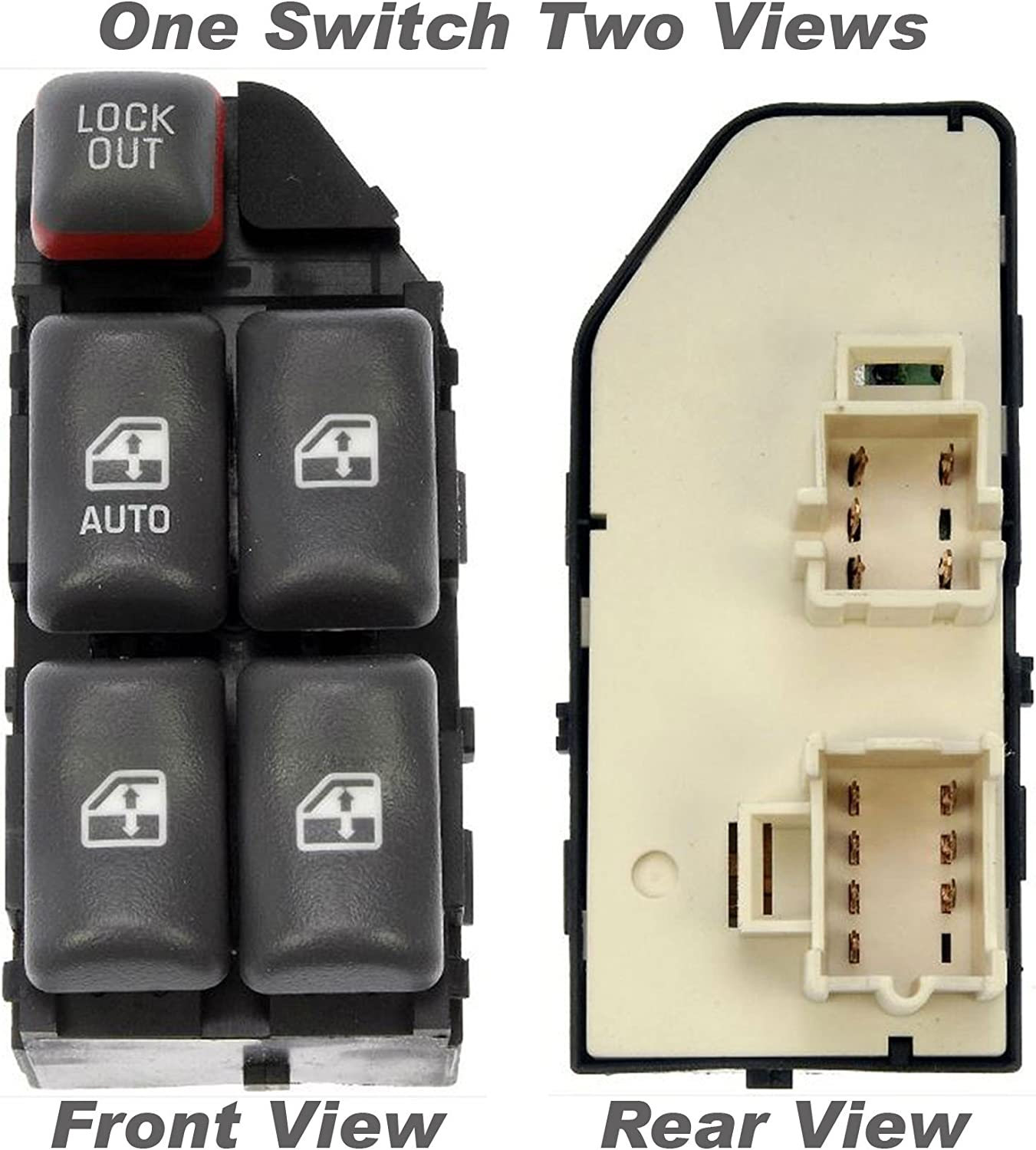 2021 autumn and winter new APDTY 012134 Power Window Left Front - Switch Max 86% OFF
