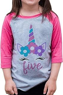 birthday girl shirt size 5