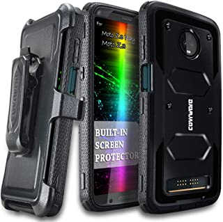 COVRWARE Moto Z3 Play/Moto Z3 Case, COVRWARE [ Aegis Series ] with Built-in [Screen Protector] Heavy Duty Full-Body Rugged...