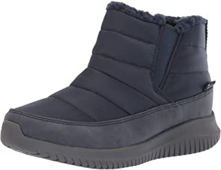 Skechers ULTRA FLEX - SHAWTY - Short Twin Gore Quilted Bootie womens Snow Boot
