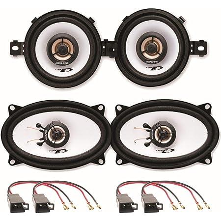 Alpine Sxe 0825s Und Sxe 4625s 2 Wege Koaxial Elektronik