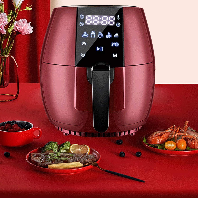 Air Fryer Intelligent, Cuisson automatique des ménages sans huile Machine, grande capacité écran tactile machine de Fries français, avec système de circulation de l'air A A