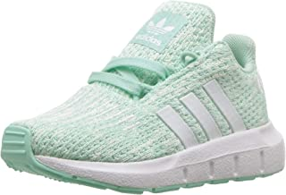 Baby Swift Running Shoe, Clear Mint/White/aero Blue, 5.5K M US Toddler