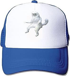 Persian Cat Room Guardian Meme Unisex Adjustable Snapback Hip Hop Hat Low Profile Baseball Cap