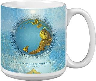 Tree-Free Greetings Extra Large 20-Ounce Ceramic Coffee Mug, Life Itself Themed Inspiring Quote Art