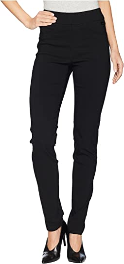 Technoslim Pull-On Slim Leg in Black
