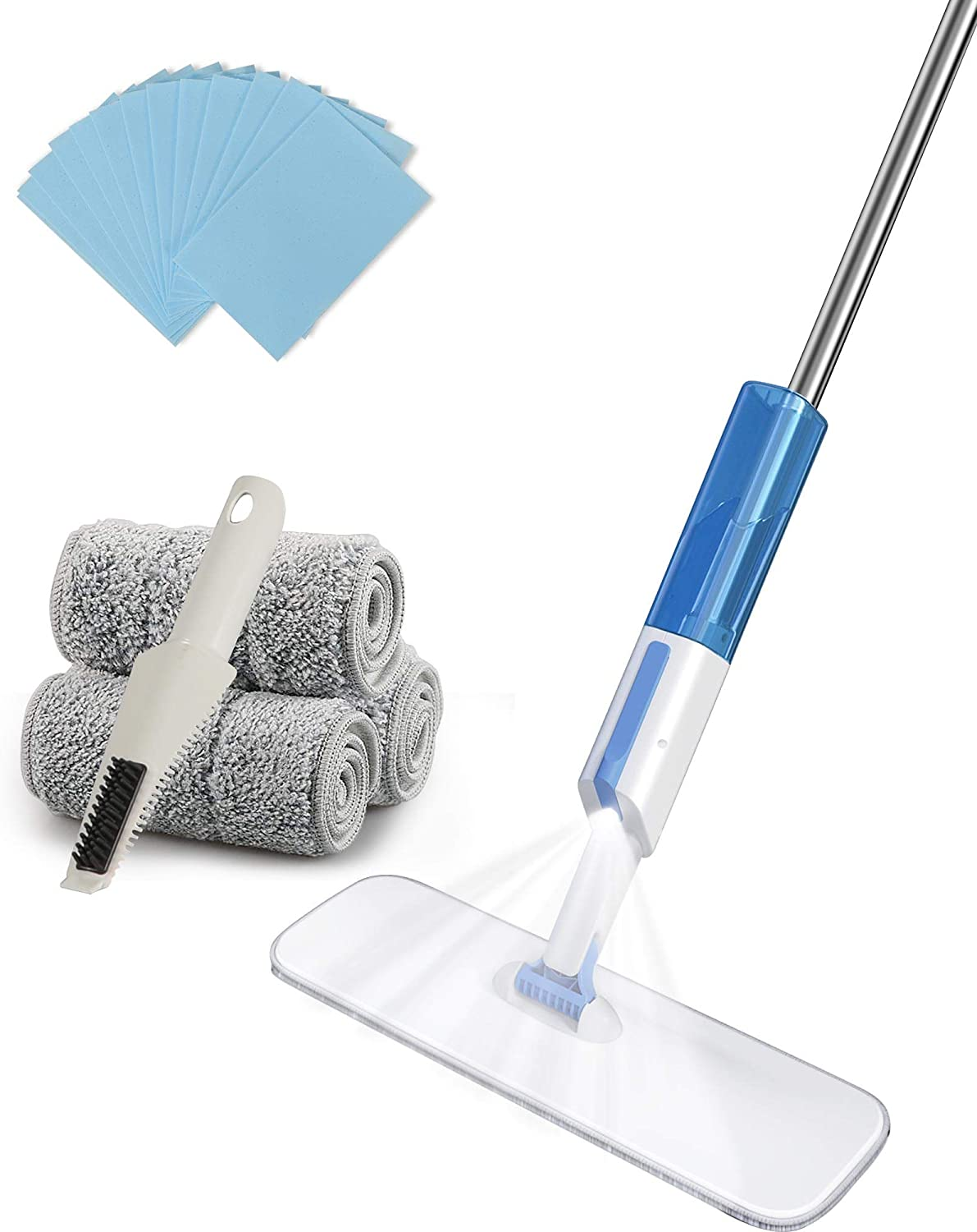 Quality inspection Microfiber Spray Mop OFFicial store inches 49