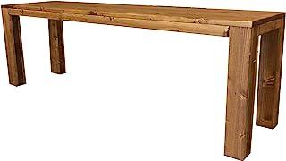 Banco de madera para jardín interio exterior 150x38.5x50H