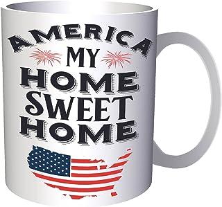 America My Home Sweet Home 330 ml taza t836