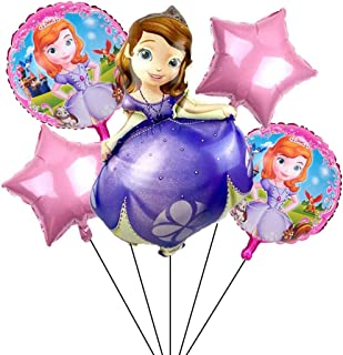 Princess Sofia The First Balloons Birthday Party Supplies for Kids Baby Shower Party Decorations