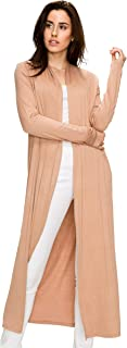 EttelLut Long Lightweight Wrap Cardigans Sweaters Open Front Regular Plus Size
