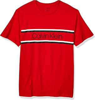 Calvin Klein Men's Athleisure Logo Crewneck T-Shirt