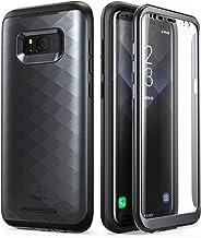 Clayco Carcasa para Galaxy S8+ Plus, de la Serie Hera, Resistente, con Protector de Pantalla Integrado para Samsung Galaxy S8+ Plus (2017 Release) (Negro)