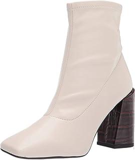 حذاء برقبة حتى منتصف الساق من Franco Sarto للنساء, (Putty), 38 EU