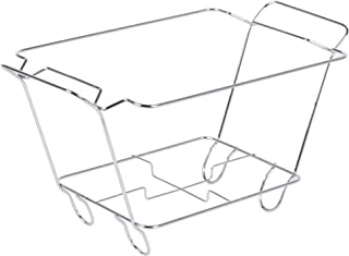 Chrome Wire Chafer Stand for 1/2 Size Disposable Pans