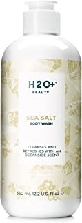 H2O+ Beauty Sea Salt Body Wash, Cleanses and Refreshes with an Oceanside Scent, 12.2 oz
