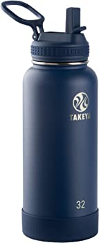 Takeya 51149 Actives Insulated Stainless Steel Water Bottle