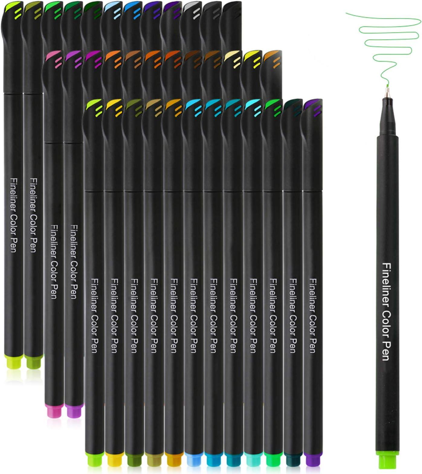 Bullet Diary Design Colors Bullet Journal STABILO pointMax 4er Etui Art Journal felt pens pastel Pens