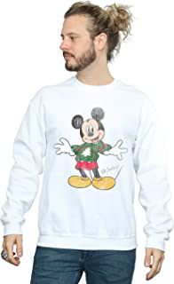 Men's Mickey Mouse Christmas Jumper Sweatshirt