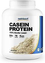 Nutricost Casein Protein Powder 5lb - Micellar Casein, Non-GMO, Gluten Free (Unflavored)