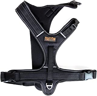 Mighty Paw Sport Harness, No-Pull Front Attachment Dog Harness, Neoprene Padded Lining, Reflective Stitching, 2 Leash Attachment Options