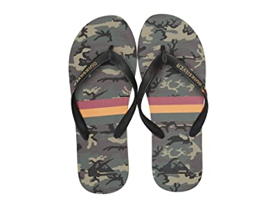 Quiksilver Molokai Print (Black/Brown/Green) Men