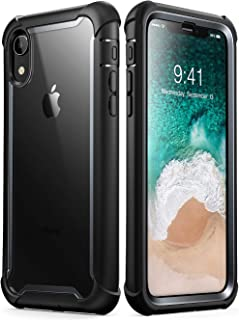 i-Blason Ares Full-Body Rugged Clear Bumper Case for iPhone XR 2018 Release, 6.1