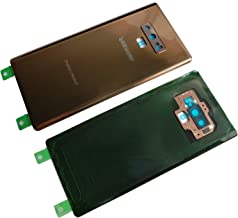 New Dadawireless Rear Panel True Glass Back Cover Housing Replacement W/Waterproof Adhesive,Rear Camera Glass Lens for Samsung Galaxy Note 9 Note9 (All Carriers)-Metallic Copper
