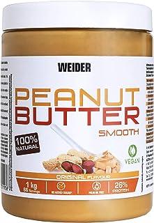 Weider Peanut Butter - 1000 gr, 100% cacahuete triturado,