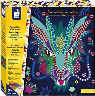 Janod- Kit Créatif-Mosaïques Créatures Fantastiques, J07904