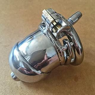 Chástí-ty Device Cǒck Cǎge Pênǐle Bêlt Anti-Off Hypoallergenic Vǐrgínìty Cǎge Male Stainless Steel Ergonomic Restraint Device Discreet Packing (Size : 40mm)