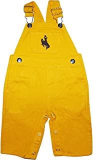 Creative Knitwear University of Wyoming Cowboys Baby Overalls