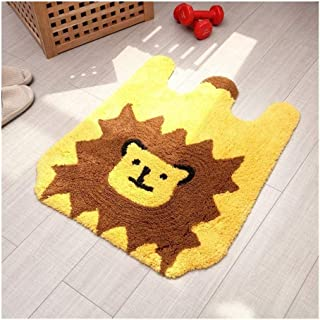 Q Baby Play Mat, Lion Play Mat Baby, Decorated Children's Room Play Mat For Baby for Bedroom Living Room Games Room (Color...