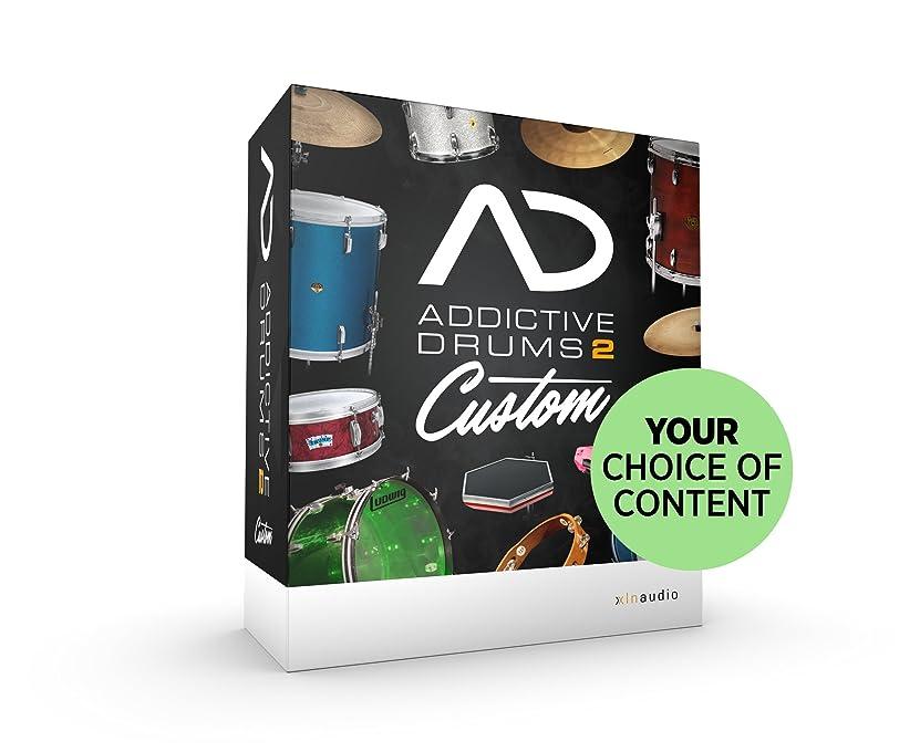 科学アスレチック貫入XLN Audio Addictive Drums 2 Custom ソフトウェアドラム音源 スタンドアローン / VST / AU / AAX対応