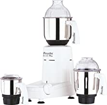 Preethi Eco Plus Mixer Grinder 110-Volt for use in USA/Canada