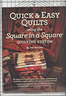 Square in a Square Original RULER with Quick & Easy starter book
