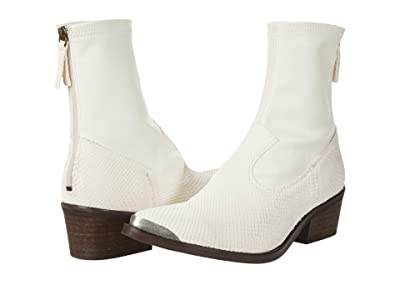 Free People Grand Teton Tight Ankle Boot (Ivory) Women