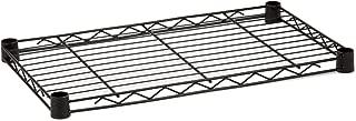 Honey-Can-Do SHF350B1848 Steel Wire Shelf for Urban Shelving Units, 350lbs Capacity, Black, 18Lx48W