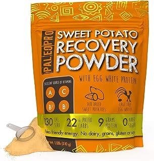 PaleoPro Paleo Sweet Potato Recovery Powder Beverage Mix, Gluten-Free, No Soy, No Whey, Keto Ingredients, High Potency Vit...