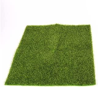 ECYC 12 Inches Artificial Grass Mat Garden Fake Sod Moss and Lichen Micro Landscape Ornament