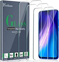 Ferilinso Cristal Templado para Xiaomi Mi 9 Lite, Redmi Note 8, Redmi Note 7, Redmi 7, Redmi S3 Protector de Pantalla, [3 Pack] Protector de Pantalla Screen Protector