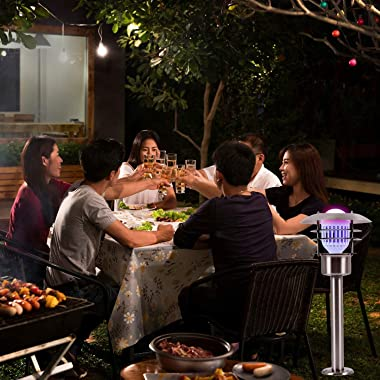 Bug Zapper Light Bulb 2 in 1 Mosquito Killer Lamp LED Electronic Insect & Fly Killer Indoor & Outdoor Insect Zapper i